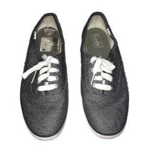 Keds Champion Sneakers Size 7 Gray Canvas Gray